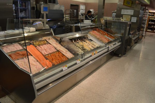Fresh Seafood Cases
